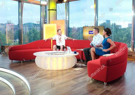 Editorial picture of 'Daybreak' TV Programme, London, Britain - 18 Jul 2011