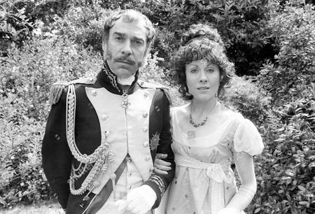 Stock Photo of Roland Curram as General Count Bertrand and Elisabeth Sladen as Countess Bertrand © ITV/Anglia 1978
