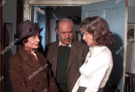 Sheila Burrell as Valerie Dent, Michael Bryant as Jeremy Dent and Mary Peach as Janet Pierce