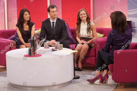 Apprentice - Susan Ma, Jim Eastwood and Helen Milligan with Lorraine Kelly