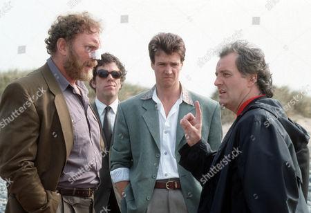 Pat Roach as Gerry Quaid, Peter Howitt as Eddie Baker and