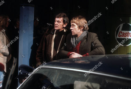 Barrie Ingham as Frank Forrest and Bryan Marshall as Joe