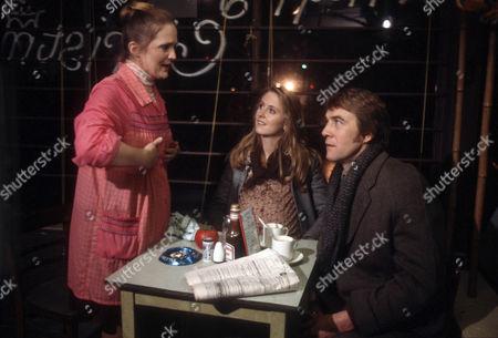 Mary Healey as Beryl, Cathryn Harrison as Mary and Bryan Marshall as Joe