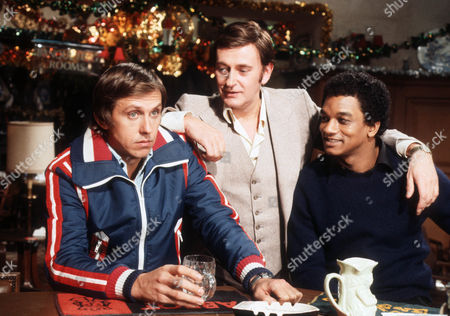 David Roper as Martyn Ainsworth, Barrie Ingham as Frank Forrest and Jeffery Kissoon as Peter Gold