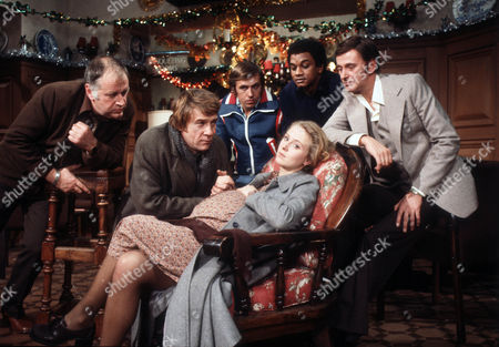 Editorial picture of 'Joe and Mary' TV Programme. - 1977