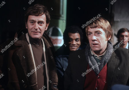 Barrie Ingham as Frank Forrest, Jeffery Kissoon as Peter Gold and Bryan Marshall as Joe