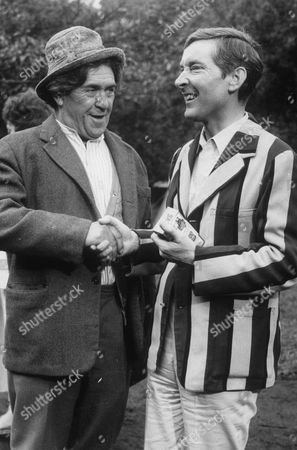 PETER BUTTERWORTH AND KENNETH WILLIAMS IN 'CARRY ON CAMPING'