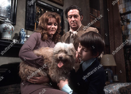 Stock Photo of Jennie Linden as Connie Ashton, John Gregson as Charles Ashton and Barnaby Shaw as Ricky Ashton
