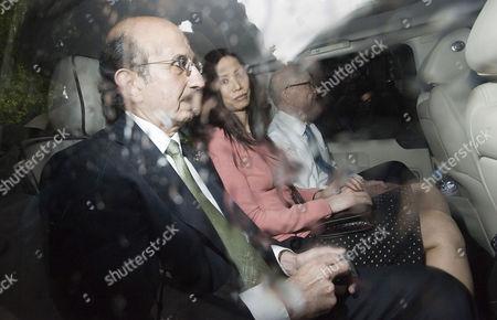 Joel Klein, Wendi Deng and Rupert Murdoch