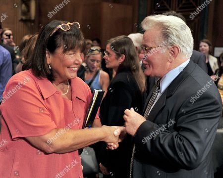 Stock Image of Jeanne E LaFazia and Martin Sheen