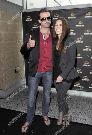 Emmett Scanlan and Claire Cooper