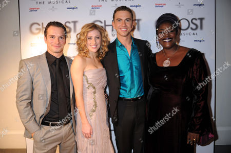 Andrew Langtree, Caissie Levy, Richard Fleeshman and Sharon D Clarke