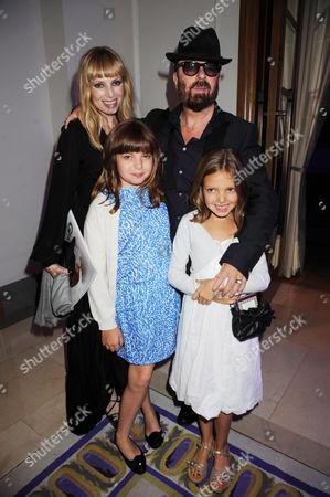 Anoushka Fisz, Dave Stewart and family