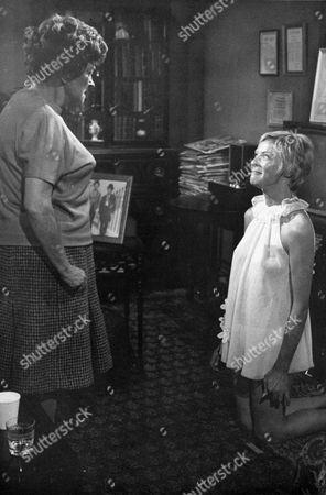 "BERYL REID AND SUSANNAH YORK IN "" THE KILLING OF SISTER GEORGE "" - 1969"