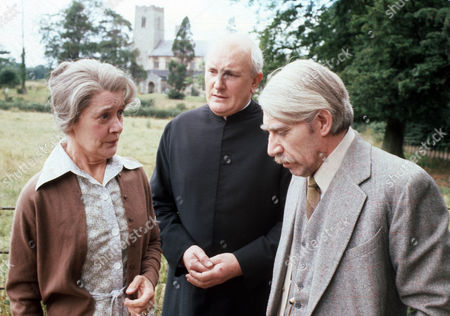 Jeanne Watts as Mrs Evers, Michael Barrington as Mr Evers and Frank Finlay as Mr Prendergast