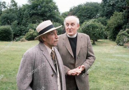 Frank Finlay as Mr Prendergast and Michael Barrington as Mr Evers