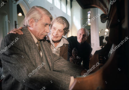 Frank Finlay as Mr Prendergast, Jeanne Watts as Mrs Evers and Michael Barrington as Mr Evers