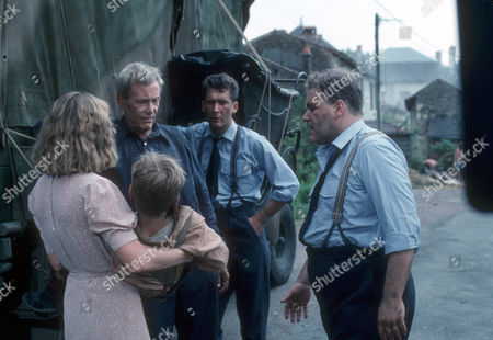 Mare Winningham as Nicole Rougeron, Peter O'Toole as John Sidney Howard, James Gaddas as RAF driver and Ron Donachie as RAF corporal