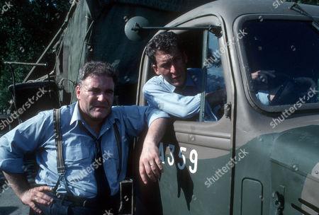 Ron Donachie as RAF corporal and James Gaddas as RAF driver