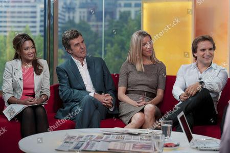 Tasmin Lucia Khan, John Stapleton, Cordelia Kretzschmar and Steve Hargrave