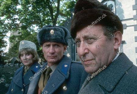 Helen Rappaport as Major Belova, Arthur Brauss as General Maslovsky and David De Keyser as Professor Cherny