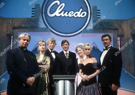 Christopher Biggins as Reverend Green, Lysette Anthony as Miss Scarlett, Tom Baker as Professor Plum, Presenter Richard Madeley, Pam Ferris as Mrs White, Susan George as Mrs Peacock and Lewis Collins as Colonel Mustard