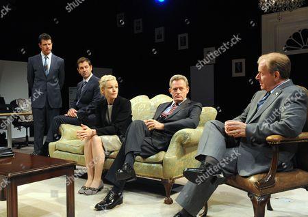 'Loyalty' - Lloyd Owen as Nick, Patrick Baladi as Tony, Maxine Peake as Laura, Michael Simmons as C and Colin Stinton as James