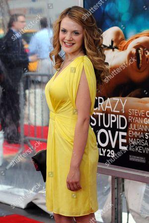 Editorial image of 'Crazy Stupid Love' Film Premiere, New York, America - 19 Jul 2011