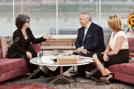 Kate Copstick with Eamonn Holmes and Ruth Langsford