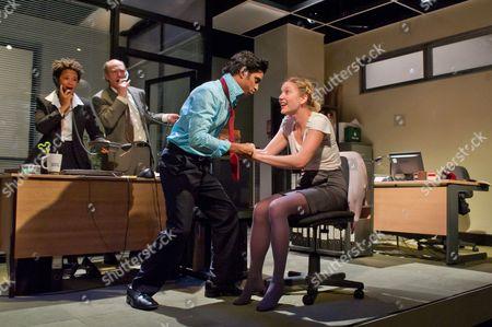 'Mongrel Island' - Golda Roshuevel as Honey, Simon Kunz as Only Joe, Shane Zaza as Elvis, Robyn Addison as Marie