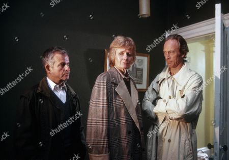 Ian Holm as Bernard Samson, Michael Culver as Dicky Cruyer