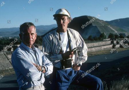Ian Holm as Bernard Samson and Michael Culver as Dicky Cruyer