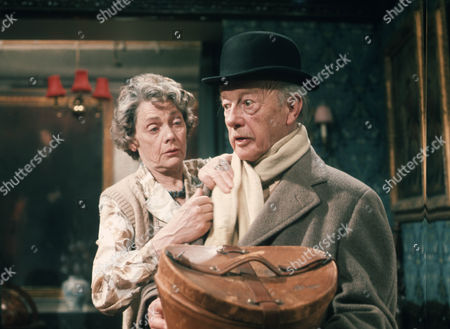Stock Image of Celia Johnson as Lady Sheila Boothroyd and Roland Culver as General Sir William Boothroyd