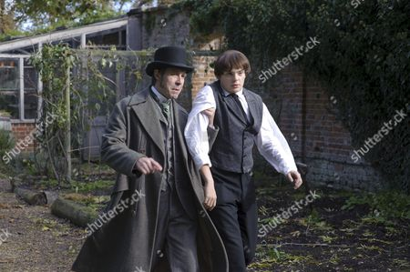 Paddy Considine as Mr Whicher and Charlie Hiett as William Kent