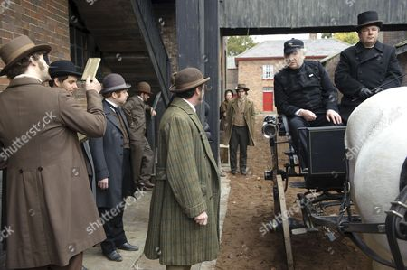 Stock Photo of Paddy Considine as Mr Whicher and Tom Georgeson as Superint. Foley