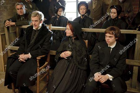 Peter Capaldi as Samuel Kent, Emma Fielding as Mary Kent and Charlie Hiett as William Kent