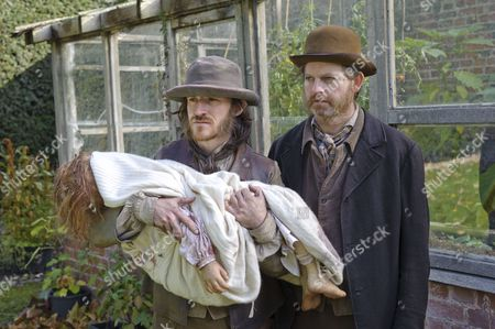 Stock Photo of Ben Crompton as William Nutt and Ruairi Conaghan as Benger