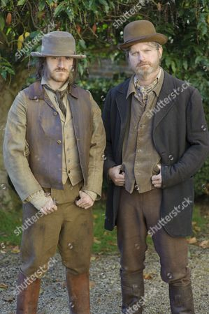 Stock Picture of Ben Crompton as William Nutt and Ruairi Conaghan as Benger