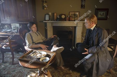 Paddy Considine as Mr Whicher and William Beck as Dolly