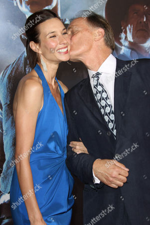 Stock Image of Keith Carradine and Wife Hayley DuMond