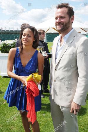 Rachel Barrett and guest