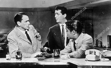 FRANK SINATRA, DEAN MARTIN AND SAMMY DAVIS JR IN 'OCEANS ELEVEN'