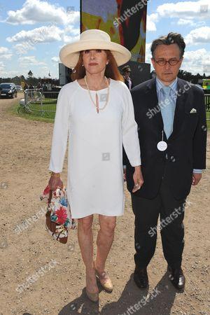 Stefanie Powers and Tomasz Starzewski
