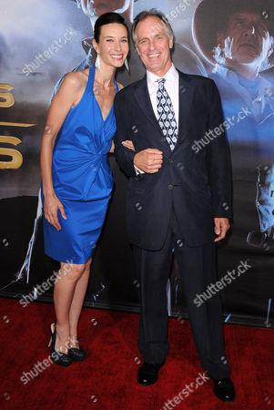 Keith Carradine & wife Hayley DuMond