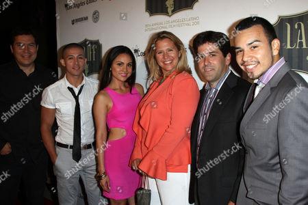 Corina Calderon, Amy Wendel, Joseph Julian Soria and Daniel Mei