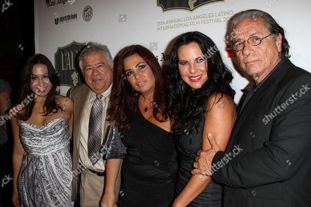 Moctesuma Esparza, Tonantzin Esparza, Gabriela Tagliavini, Kate Del Castillo