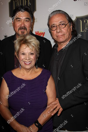 Lupe Ontiveros and Edward James Olmos