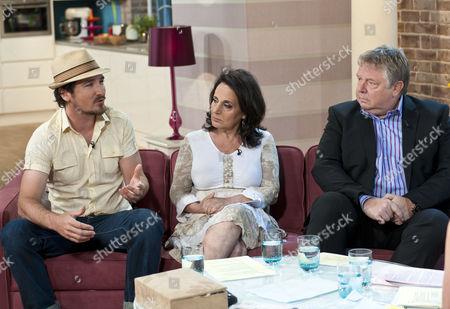 Stock Image of Joe Mott, Lesley Joseph and Nick Ferrari