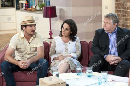 Stock Picture of Joe Mott, Lesley Joseph and Nick Ferrari