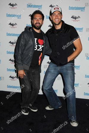 Joshua Gomez and Zachary Levi